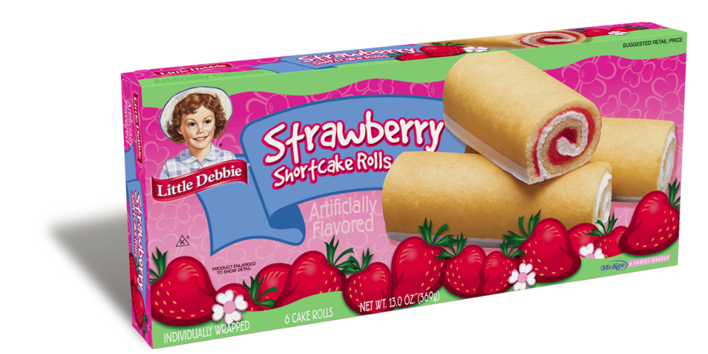 Little Debbie Strawberry Cakes