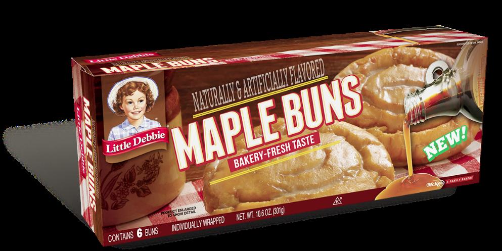 Maple Buns Little Debbie