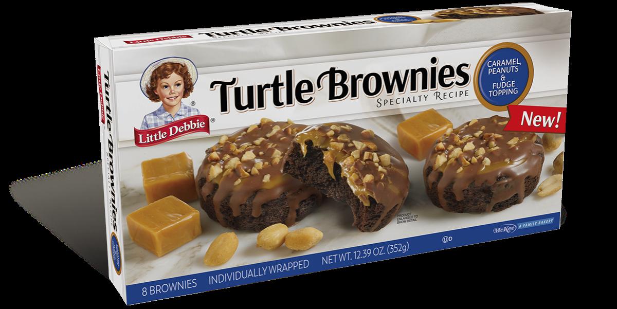 Turtle Brownie Bars