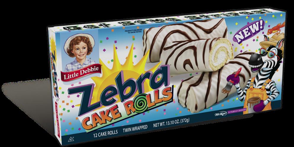 Little Debbie Zebra Cake Rolls
