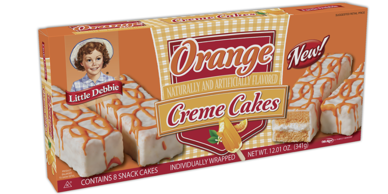 Orange Creme Cakes Little Debbie