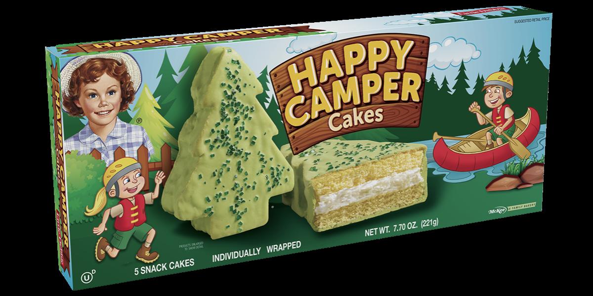 Little Debbie Happy Camper Cakes