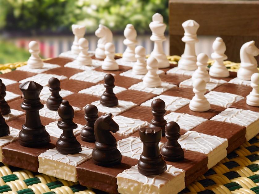 Devil Squares Fancy Cakes Chess Set Little Debbie