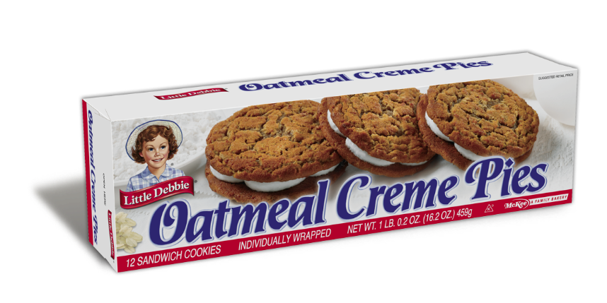 Oatmeal Cream Pies 12/box