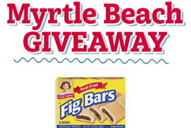 Myrtle Beach Giveaway Graphic
