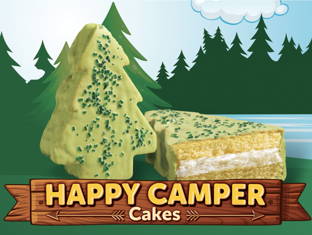 Happy Camper Cakes Little Debbie