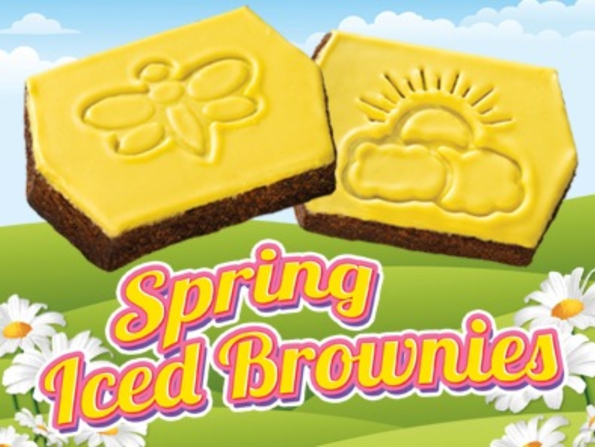 Little Debbie® Spring Iced Brownies