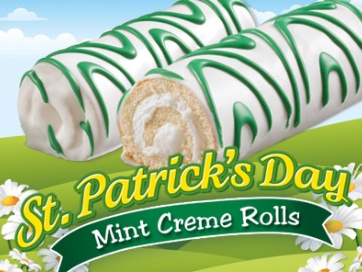 Little Debbie® St. Patrick's Day Mint Creme Rolls