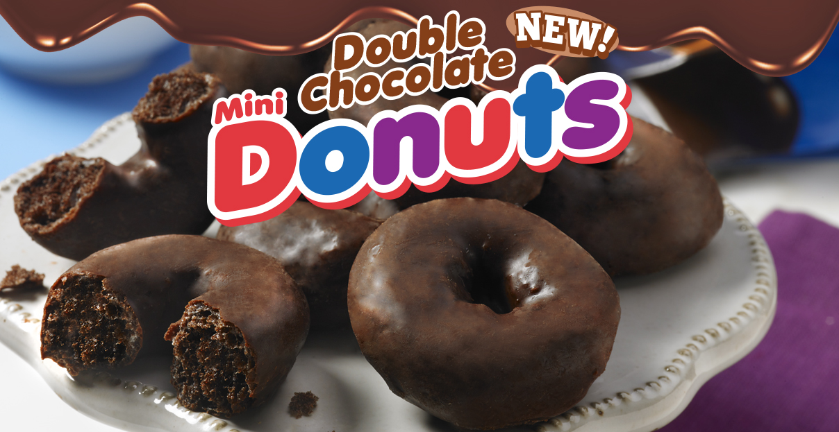 Free Cake Friday Double Chocolate Mini Donuts