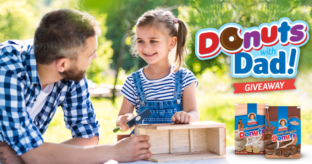 Donuts with Dad Giveaway