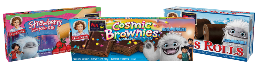 Abominable Little Debbie Packaging