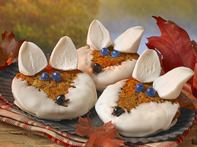 Oatmeal Creme Pie Foxes