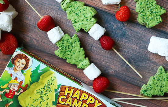 Keep an eye out for Little Debbie's newest snack, Happy Camper Cakes! Bright and tasty green trees for the outdoor lover in all of us.