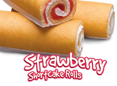 Strawberry Shortcake Rolls | Little Debbie