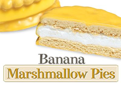 Marshmallow Pies Banana Little Debbie