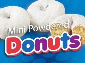 Mini Donuts Powdered Little Debbie