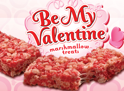 Be My Valentine Marshmallow Treats 174 Little Debbie
