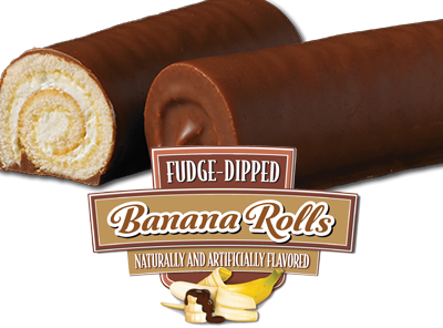 Fudge Dipped Banana Rolls Little Debbie